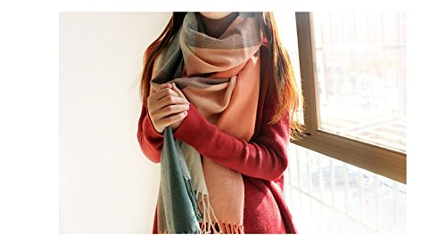 Calvin Klein Satin Tie (Winter Scarf Women Blanket Plaid Scarf Female Shawls And Scarves Warm)