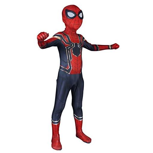 Riekinc Kids Superhero Costumes Lycra Spandex Zentai Halloween Cosplay Costumes