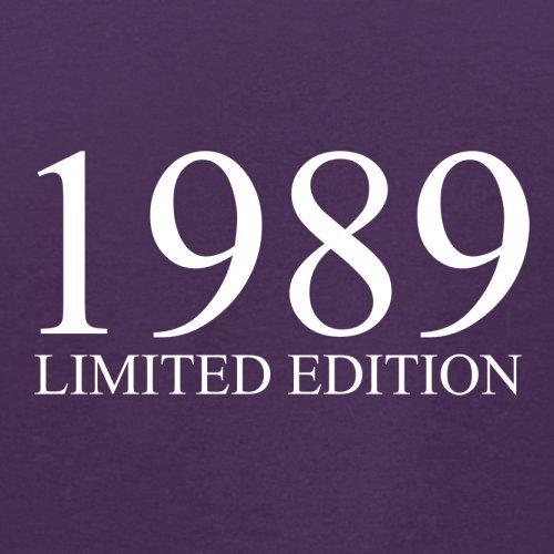 1989 Limierte Auflage / Limited Edition - 28. Geburtstag - Herren T-Shirt - Lila - XL