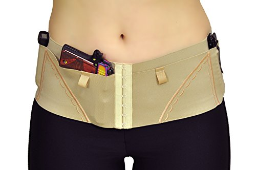 Can Can Concealment Hip Hugger Classic Woman's Holster - Champagne