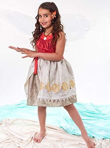 Little Adventures Disfraz de Princesa Polinesia con Flor para niña ...