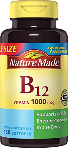 Top 5 Nature Made B12 Vitamin