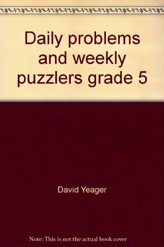Daily problems and weekly puzzlers grade 5