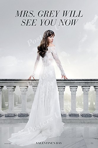 Posters USA Fifty Shades Freed Movie Poster GLOSSY FINISH -