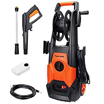 PAXCESS-Electric-High-Pressure-Washer-Jet-Washer-1800W-130Bar-High-Power-Jet-Wash-Car-Washing-Machine-with-8M-HoseSpray-Gun-for-Home-Garden-Furniture-Walls-Patio-Fences-Deep-Clean-Tasks