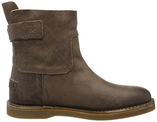 Shabbies Amsterdam Shabbies Schlupfstiefel Vegetabil, Zapatillas de Estar por Casa para Mujer marrón