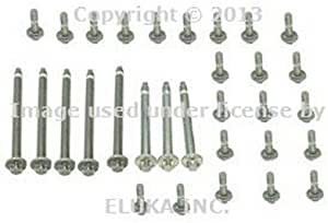 for BMW (06-10) Engine Oil Pan Bolt Kit (Aluminum) OEM
