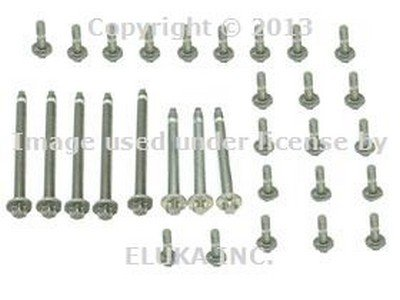 - BMW (06-10) Engine Oil Pan Bolt Kit (Aluminum) OEM
