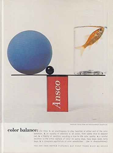 Color Ansco Film (Color Balance - Irving Penn for Ansco Color Film ad 1961)