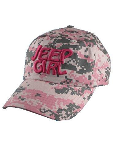 Jeep Girl Digital Camo Pink Cap