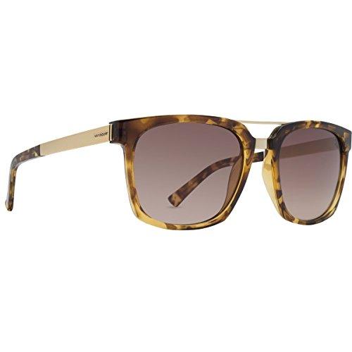 VonZipper Mens Plimpton Sunglasses, Tortoise w/Gradient - Wayfarer Von Zipper