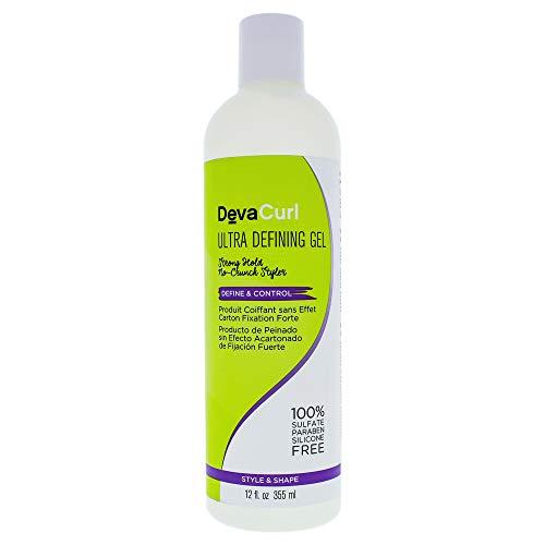 DevaCurl Ultra Defining Hair Gel, 12oz (Best Curly Hair Product Reviews)