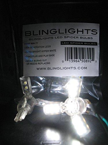 r Lite Bulbs for Tail Lamps Rear Brake Stop Lights Dual Brightness T20 (Street Glow Led Brake)