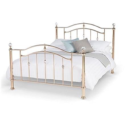 Elegant Traditional 6ft Super King Metal Bed Frame Ashley Rose