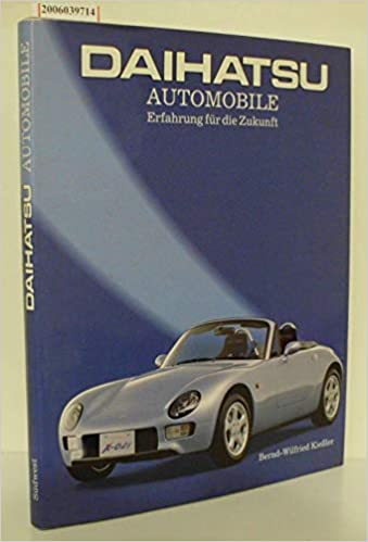 Daihatsu Automobile: Amazon co uk: Bernd-Wlfried Daihatsu