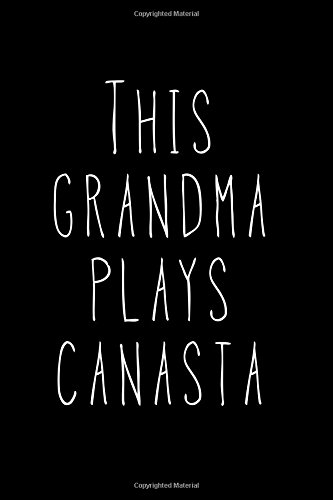 Download This Grandma Plays Canasta: Blank Lined Journal ebook
