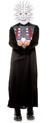 [Paper Magic Group Hellraiser Pinhead Costume, X-Large Size: 14-16] (Hellraiser Mask)