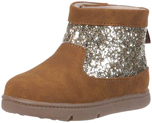 Carter's Every Step Ayame-P Baby Girl's Walking Fashion Boot, Brown 3 Medium US Infant ()