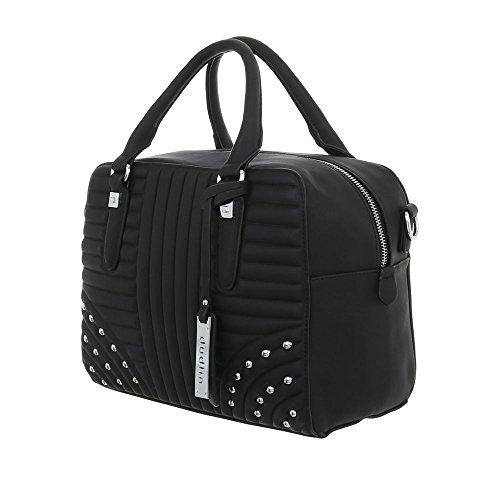 à porter l'épaule Sac Noir femme Ital Design à pour w1UP4ZAxq