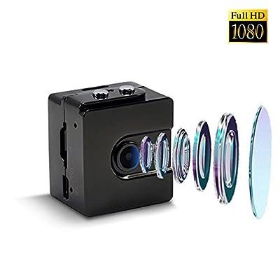 Hidden Camera 1080P HD Spy Cam Smallest Portable Mini Camera 120° Wide Angle Body Camera Video Recorder Motion Detection Non Light Night Vision Nanny Cam