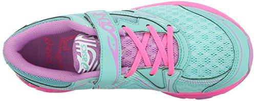 Asics Unisex-Kind Noosa PS Schuhe Ice Green/White/Hot Pink