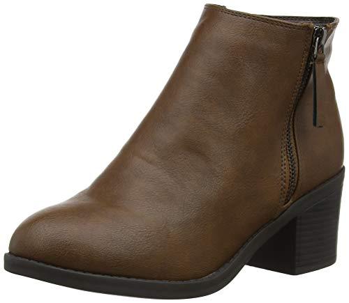 Wide tan New Bottes Deena 18 Classiques Femme Foot Look Beige qqAa5wZ