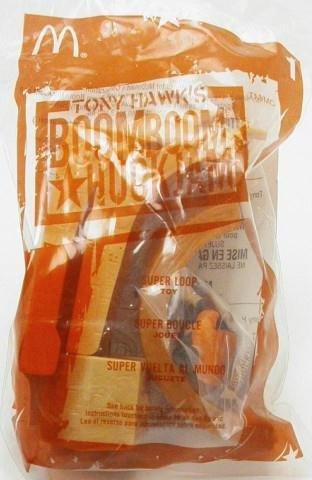 Super Loop Skateboard Toy - 2004 McDonald's Happy Meal Tony Hawk's Boomboom Huckjam Series #1