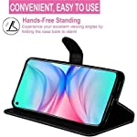 FOOLPROOF Mobile Flip Cover, Compatible Device Poco M3 Pro 5G with Foldable Stand & Cards Slots (Black, Brown, Multi…