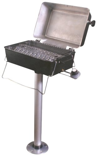 Springfield Deluxe Propane Grill (Bbq Grill Pontoon For Boat)