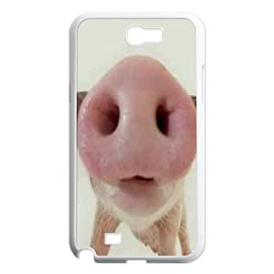 Samsung Galaxy Note 2 N7100 Funny Piggy Phone Back Case Use Your Own Photo Art Print Design Hard Shell Protection MN074263