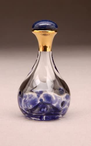 Blue Contemporary Timeless Traditions Tear Bottle 2 inch