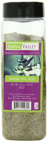 Jansal Valley Indian Dill Seed, 14 Ounce by Jansal Valley