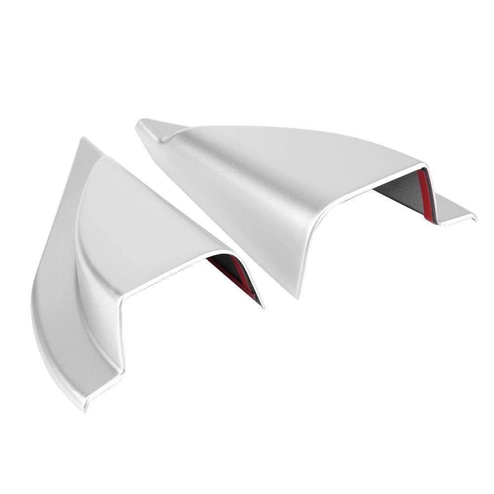 EBTOOLS 2Pcs Front Door A Pillar Triangle Cover Trim Mitsubishi Eclipse Cross 17-18(Carbon Fiber)
