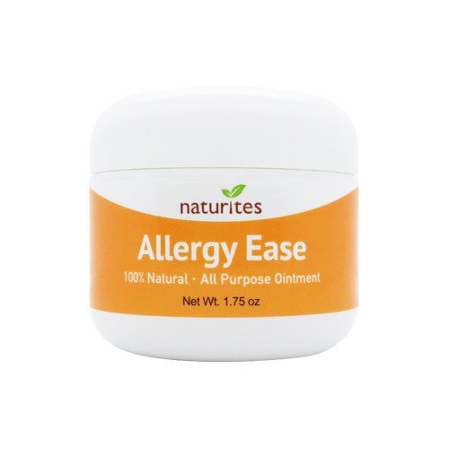 Allergy Ease Cream (Mild) 1.75 oz. All purpose, 100% natural, handmade in USA. Doctor's formula for Eczema, Psoriasis, Irritated, Itchy, Sensitive, Dry Skin on Face, Hands and Body.