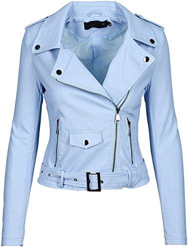 Clair Blouson Bleu Femme Longues Brands Golden Manches Selection EqxwTanZ0