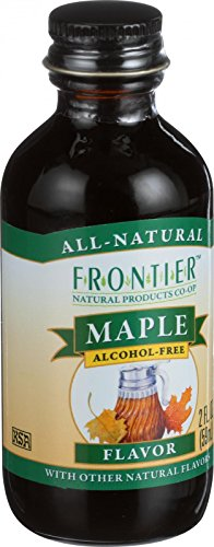 - Frontier Herb Maple Flavor - 2 oz - All Natural - Alcohol Free - With other Natural Flavors