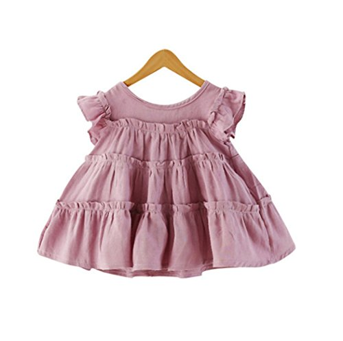 Acvip Pink Girl's Shirt Candy Dress zHYqgP8z