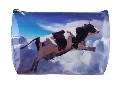 Tigapaw® - Neceser para niño o adulto, diseño de vaca, 18 x ...