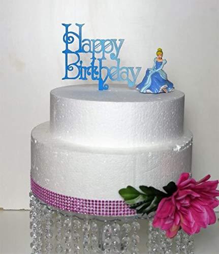 Tremendous Amazon Com Happy Birthday Cinderella Disney Princess Inspired Birthday Cards Printable Inklcafe Filternl