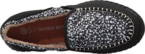 Bernie Mev Womens Stitched Fuzzy Black Stars