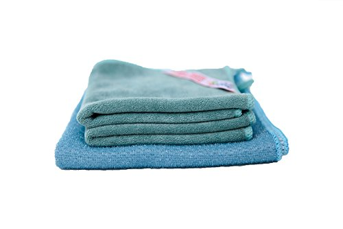 Best Kitchen | Multipurpose Cleaning Cloth (2) + Heavy Duty Cleaning Cloth (1) Dual Action Bundle | Chemical-Free Clean | Allergy Free Clean | Eco Friendly
