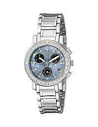 Invicta Women's 0610 Wildflower Collection Diamond Chronograph Watch