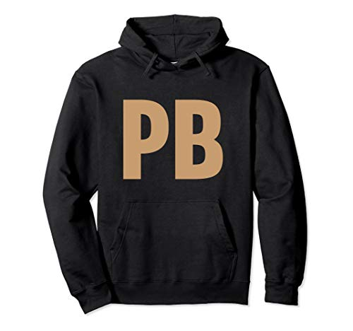 Peanut Butter and Jam PB&J Couples Pullover
