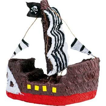 Pirate Ship Pinata ()