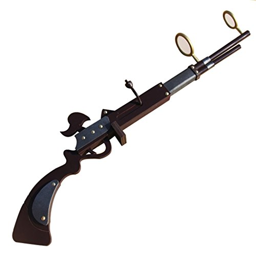 Mtxc League of Legends Cosplay Caitlyn Prop Weapons Black