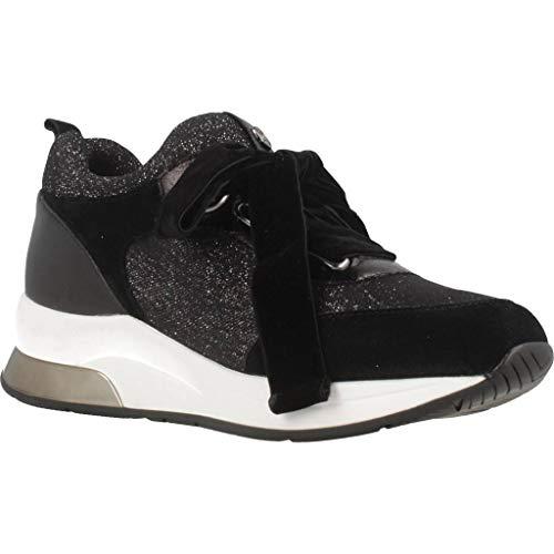 Jo Femme B68005 Argent Liu Noir Karlie Noir Tx004 Baskets Up Lace Chaussures 06 Basses argent AqndBn