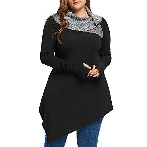 AOJIAN 2018 Women Blouses Shirts Tops tees T Shirt Hoodies Sweaters Open Front Plus Size Button Coral Ruffle Holes Sport Knit Zip Active Light Pocket by AOJIAN