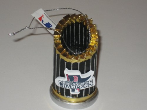 Red Sox World Series xmas Trophy ornament official mlb - Mlb Christmas Ornaments