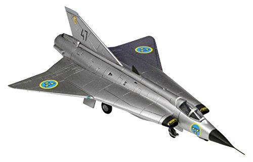 プラッツ 1/144 J35F ドラケン プラモデル FC-4