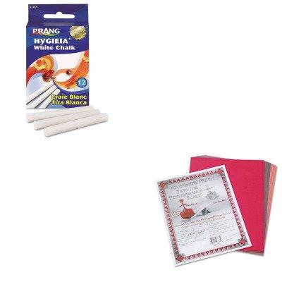 (KITDIX31144PAC103637 - Value Kit - Prang Hygieia Dustless Board Chalk (DIX31144) and Pacon Riverside Construction Paper (PAC103637))
